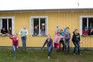 Ein Sprung in die Zukunft, da freuen sich die Kinder und Jugendlichen des JUZ