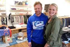 Steffen und Sarah Jessen sieht man die Freude einfach an ;-)
