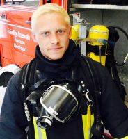 ... und als Feuerwehrmann well equipped! © Meinerts