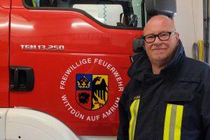 Meine Wehr Wittdün: Feuerwehrmann Peter Lückel