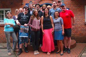 Gruppenfoto - alle Akteure, Helfer und Organisatoren