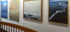 Dorothea Fischer-Naef stellt in der Buchhandlung Quedens ihre Bilder aus…