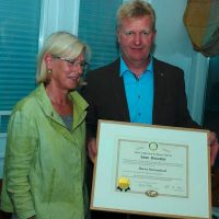 Annette Isemann übergab ihr Amt an Christian Peters