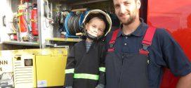 Ivo Dwornik – mit dem Eigenheim kam auch der Einstieg bei der freiwilligen Feuerwehr…