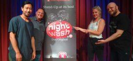 """Premiere – Bei """"NightWash"""" wurde das Norddorfer Gemeindehaus zum Waschsalon…"""