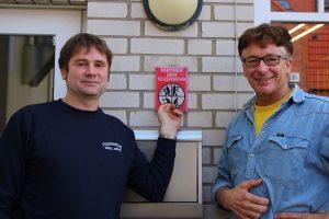 Partner der Feuerwehr: die Amrumer Firma Arfst Bohn und ihre beiden Geschäftsführer