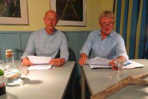 Holger Umbreit und Jörg Schüttauf