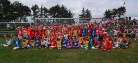 90 Nachwuchskicker zeigten bei der Soccer Academy auf Amrum ihr können…