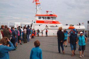 Open Ship auf der Ernst Meier-Hedde