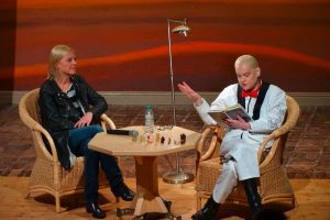 Cornelia Scheel und Hella von Sinnen