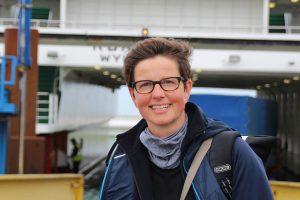 Nicole Ahland im Zwischenraum von Land und Meer