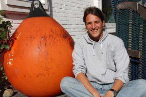 Fühlt sich schon sehr wohl auf der Insel: Naturzentrums-Leiter Christian Vogel