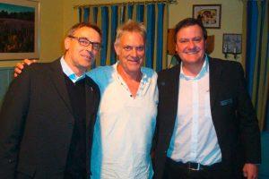 v.l. Michael Hoff, Martin C. Herberg und Andreas Buzalla