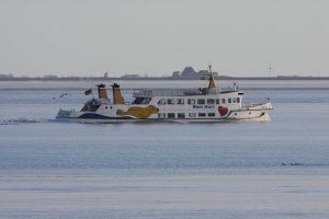 Mit dem Verkauf der Rüm Hart an die Partner Reederei Norden Frisia in 03.2014 zog sich die WDR aus dem Ausflugsgeschäft zurück. Mit dem Neubau wird dieser Geschäftszweig wieder belebt werden können.