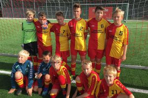 D-Junioren des TSV Amrum