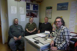 Vorstand und Pflegedienstleitung