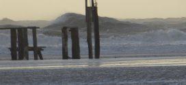 Milde Luftmassen strömten mit orkanartigen Böen über die deutsche Bucht und wirbelten einiges durcheinander…