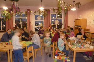 Weihnachtsfeier im Inselkindergarten...