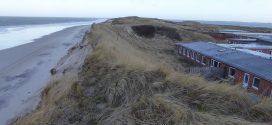 Erschreckende Sandverluste an Amrums Westküste ….