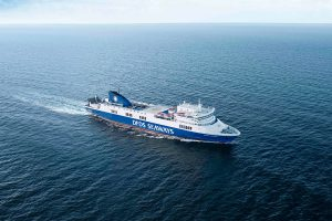 Transfer von Kiel nach Litauen... (Foto/Quelle): DFDS Seaways)