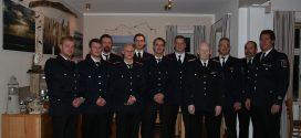 Beförderungen und Ehrung auf der Jahreshauptversammlung der freiwilligen Feuerwehr Norddorf