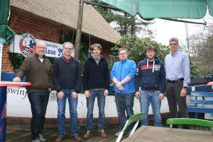 Der Vorstand: v.l. Dirk Dümmel, Christian Klüßendorf, Nils Randow, Jan Schmuck, Dominic Kühfuß, Ulf Jürgensen