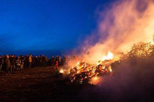 Alle Feuer waren gut besucht...