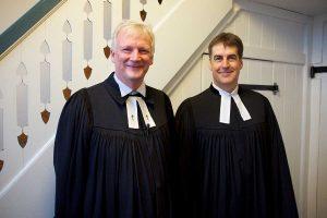 Inselpastor Georg Hildebrandt und Pastor Richard Hölck