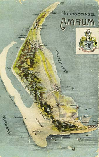 Karte Sylt Amrum.Die Amrumer Westküste Wie Sie Früher War