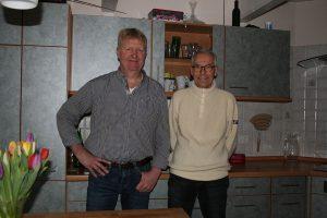 v.l. Präsident des Clubs Christian Peters und Michael Langenhan