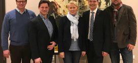 CDU-Besuch anlässlich der Landtagswahl im Mai