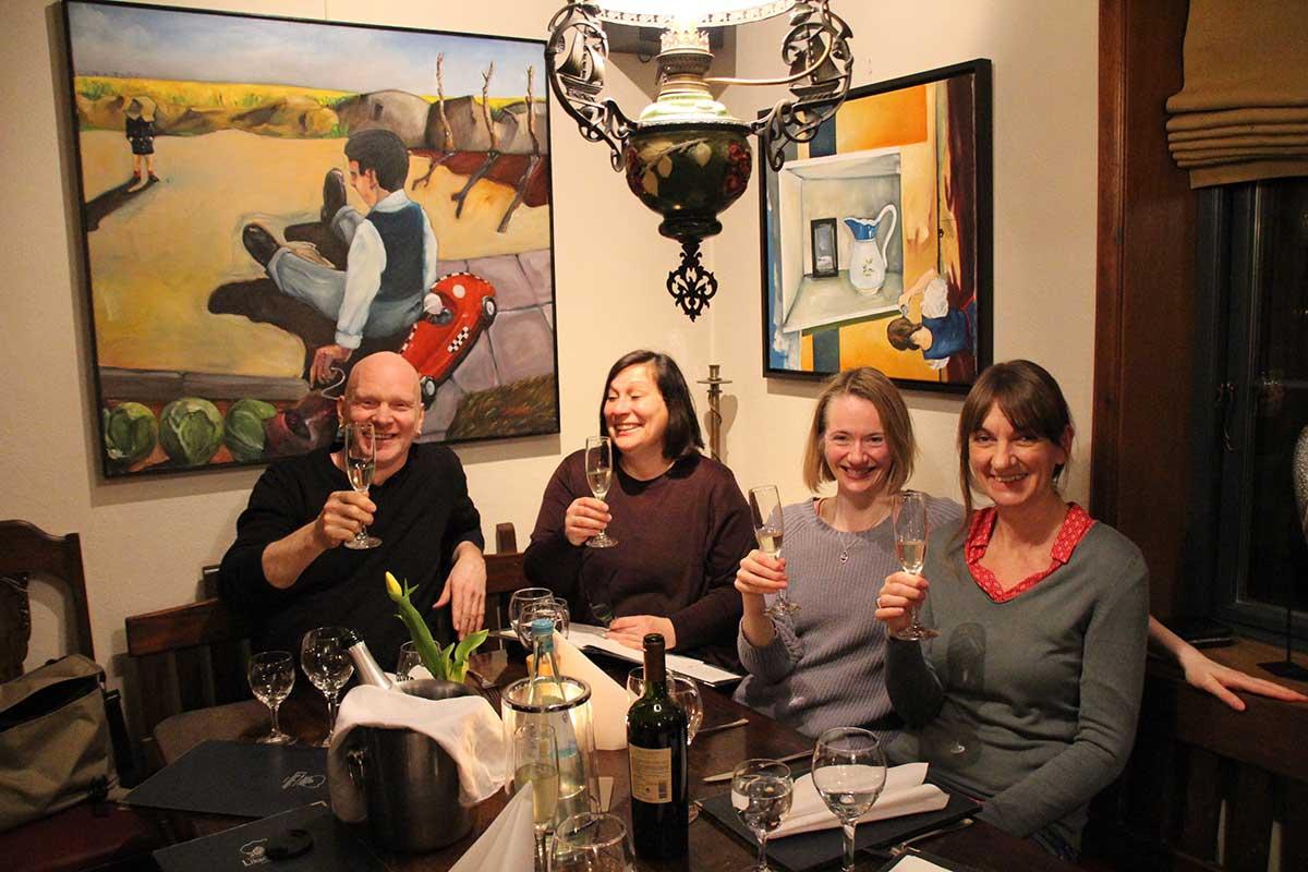 Villa Helgoland Amrum kunst geht los georg dittmar stellt im likedeeler aus