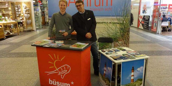 Im Jahr 2017 war die Insel Amrum bei zahlreichen Marketingauftritten im Berliner Raum präsent…