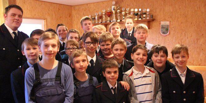 Viel, viel Spaß: Jahreshauptversammlung der Jugendfeuerwehr…