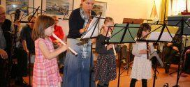 Viel Nachwuchs beim 63. Stiftungsfest des Amrumer Posaunenchores und Flötenkreises…