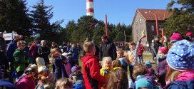 Buntes Programm und wechselhaftes Wetter zu Ostern auf Amrum 2017…