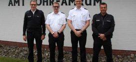Polizeioberkommissar Henning Schulze leitet die Polizeidienststelle Amrum…