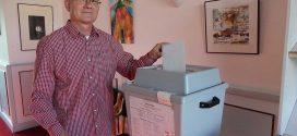 Großes Interesse an der Wahl in Schleswig-Holstein – Die Wählerinnen und Wähler gaben auf Amrum Ihre Stimme zur Landtagswahl und zum Bürgerentscheid ab…