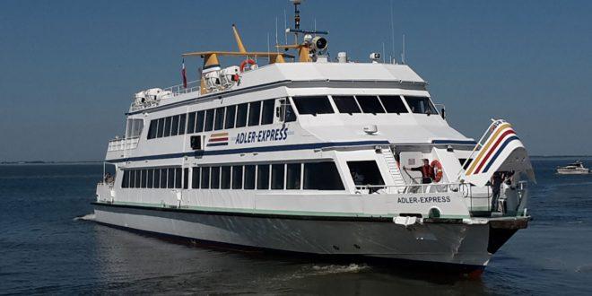 Keine Parkgebühren in Nordstrand – die Adler-Reederei macht Amrum-Urlaubern ein attraktives Angebot…
