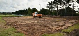 TSV Amrum: Baumaßnahmen in vollem Gange…