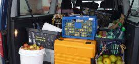 Die mobile Saftpresse kommt nach Amrum…