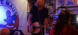 Morgan Finlay, kanadischer Singer/Songwriter gastiert erstmalig auf Amrum in der Blauen Maus …