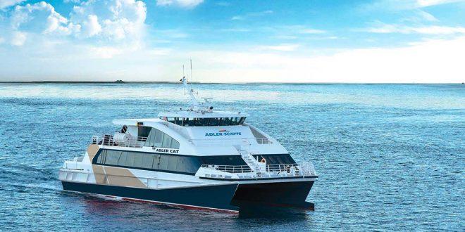 Adler Cat verbindet die nordfriesischen Inseln und Helgoland …