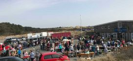 Traumwetter und viele Besucher beim 1. bunten Disco-Flohmarkt …