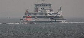 Der Neubau der Wyker Dampfschiffs-Reederei ist im Wattenmeer angekommen …