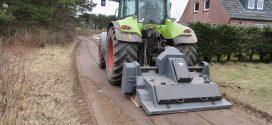Teststrecke für Wassergebundene Wege geplant …