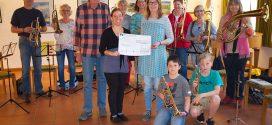 Große Spende für kleine Musiker
