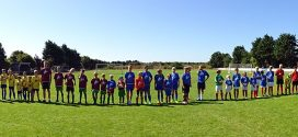 Leuchtende Kinderaugen und hochmotivierte Nachwuchskicker bei der Fußballschulevon Ex-Fußballprofi Thomas Seeliger auf Amrum…