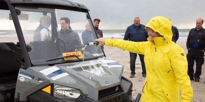 Ein neues Rettungsgespann für den Nebeler Strand