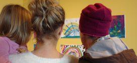 Nolde mit den Augen der Kinder –  Projekt-Ausstellungen auf Amrum und Föhr eröffnet …